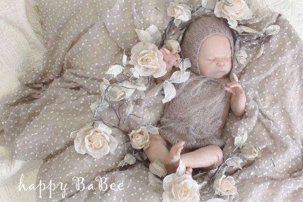 Newborn Strick Set Fotoshooting Props