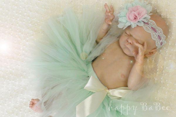 Newborn Baby Fotografie Tütü Tüllrock Photoprops