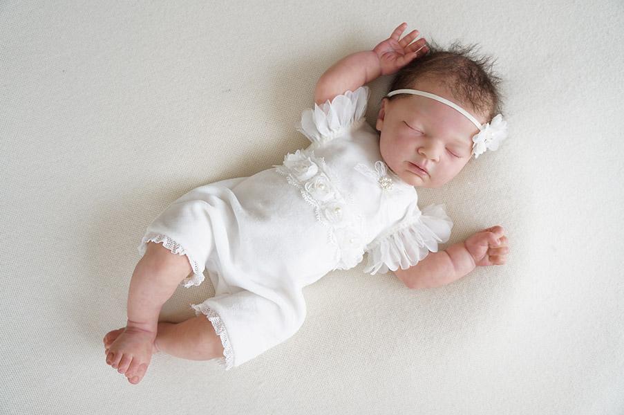 Festliches Neugeborenen Body Für Taufe Oder Fotoshooting