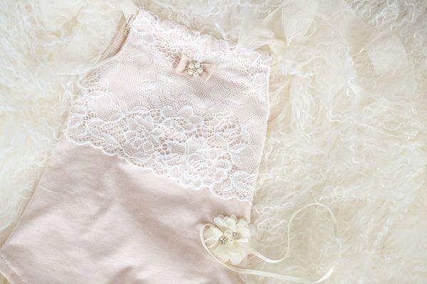 Baby Outfit für Babyshooting oder Taufe