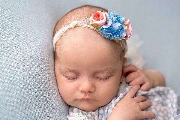 Babyhaarband für Babyshooting
