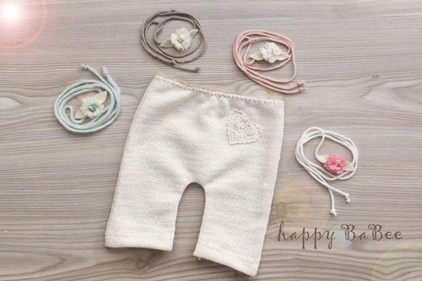Newborn Hose und Haarband