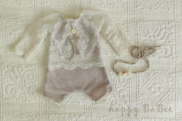 Babybody festlich, Babyfotografie, Taufbekleidung