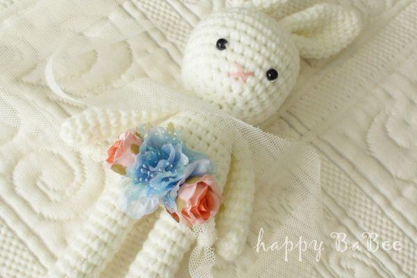 Baby Haarband Fotoaccessoires Fb. Blau-Rosé
