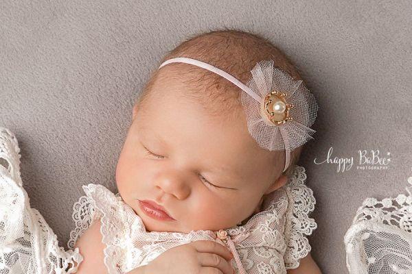 Baby Haarband Krone