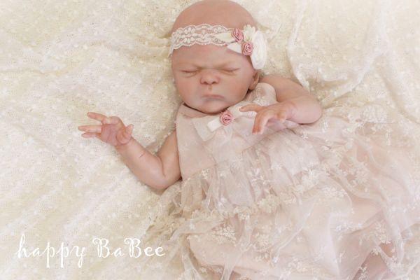 Baby Vintage Kleid Fotoshooting