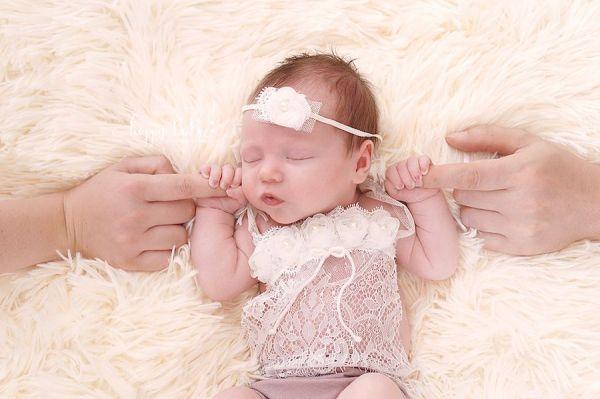 Baby Outfit für Neugeborenen Fotoshooting