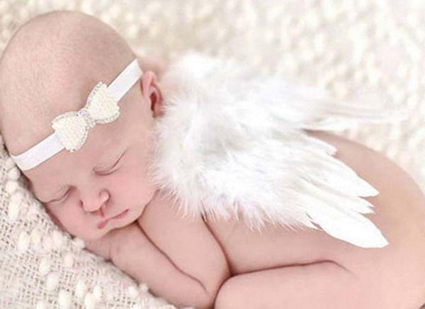 Engelsflügel Baby Fotoshooting