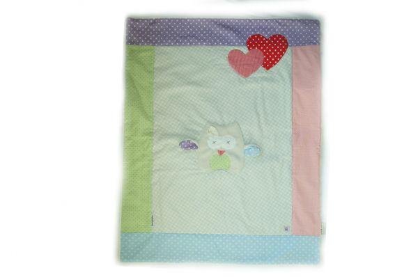 Decke für Baby Eule