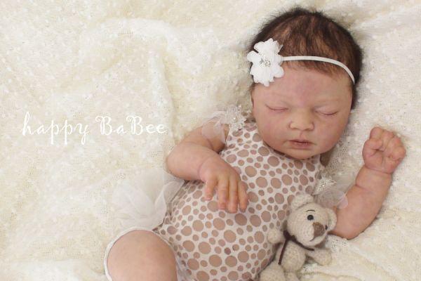 Newborn Body mit Tütü Rüsche & Haarband