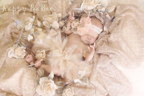 Newborn Reborn Baby tütü Rock petticoat Fotoshooting