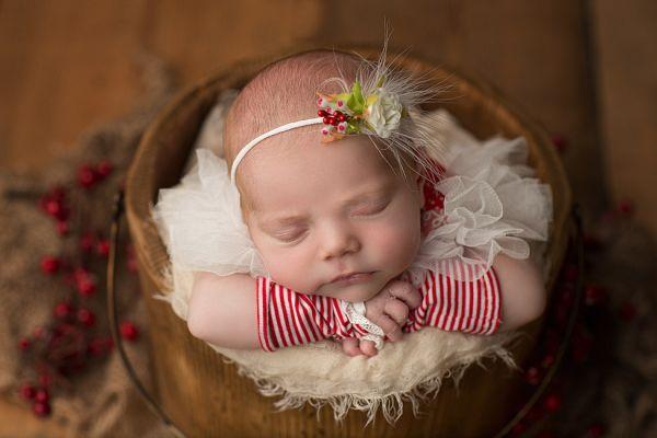 Babybody für Fotoshooting