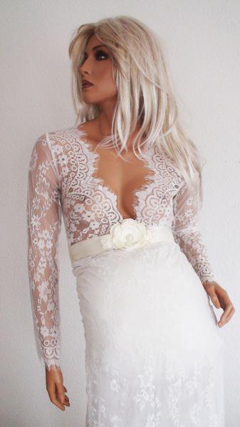 Romantisches Kleid aus Spitze