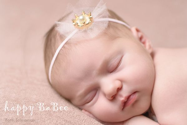 Haarband für Baby Krone Prinzessin