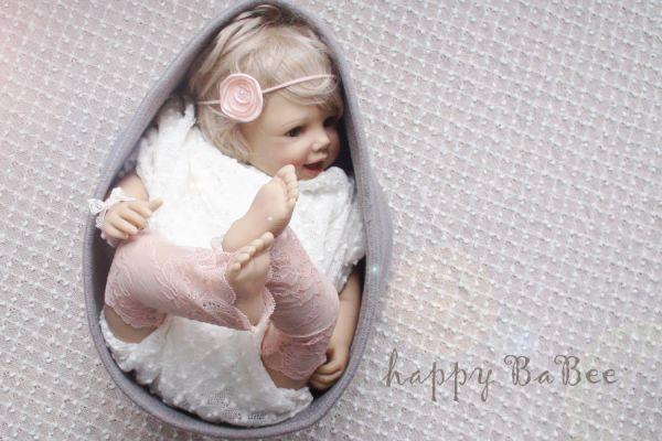 Beinstulpen Baby Armband haarband für Fotoshooting