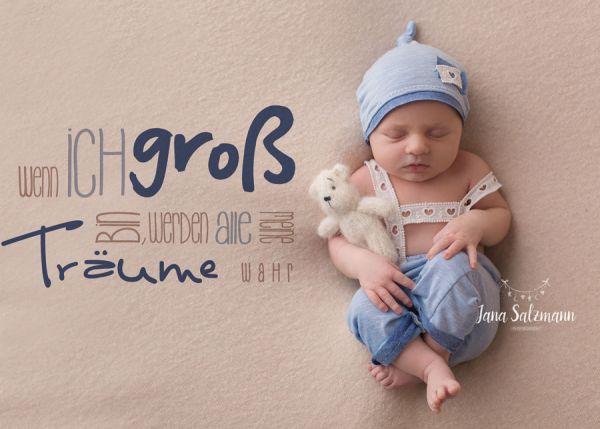 Neugeborenen Outfit für Baby Fotoshooting