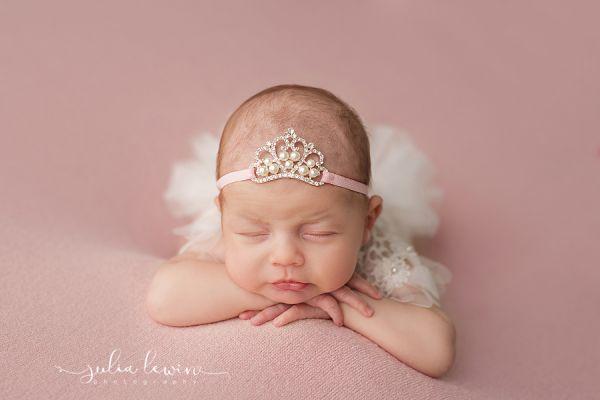 Neugeborenen Haarband für Babyfotoshooting