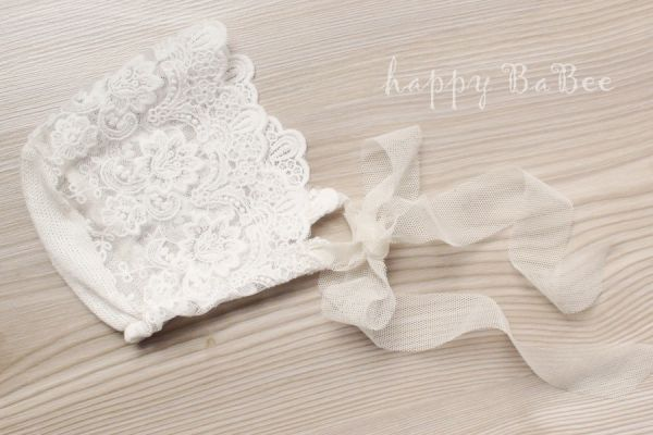 Baby Bonnet Photo Prop