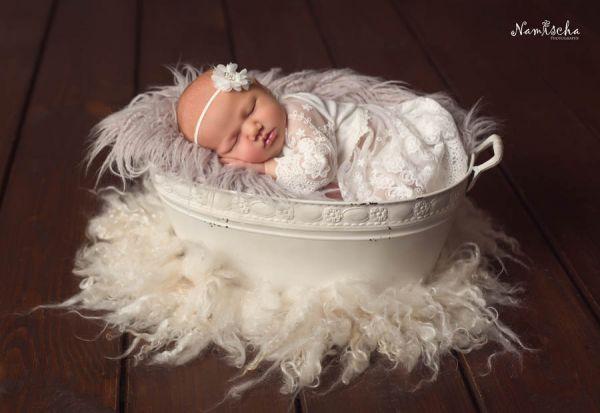 Taufkleid, Babykleid, Neugeborenen Taufkleid