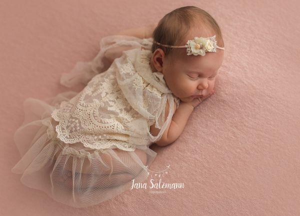 Baby Vintage Kleid as Spitze
