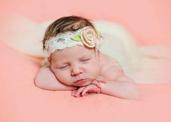 Baby Haarband MILA Fb. Caramel